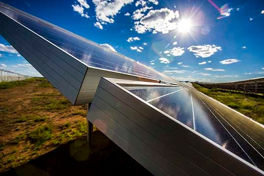 Solar farm commissioned
